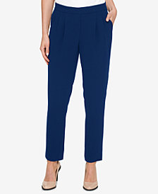 DKNY Pull-On Ankle Pants