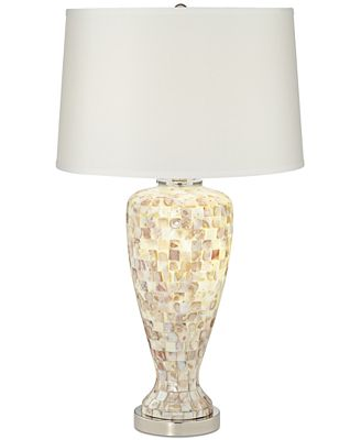 Pacific Coast Mother Of Pearl Table Lamp Lighting Lamps Home