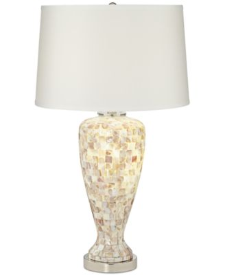 Pacific Coast Mother Of Pearl Table Lamp