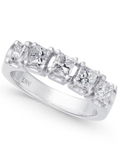 Diamond Princess Band (1-1/2 ct. t.w.) in 14k White Gold