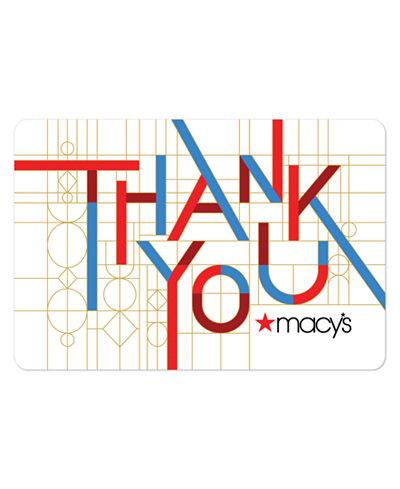 Thank You E-Gift Card