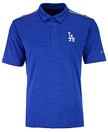 Columbia Men's Los Angeles Dodgers Omni-Wick Alignment Polo