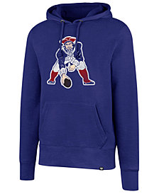 '47 Brand Men's New England Patriots Retro Knockaround Hoodie