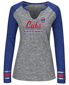 Women's Chicago Cubs Running Out Long Sleeve T-Shirt