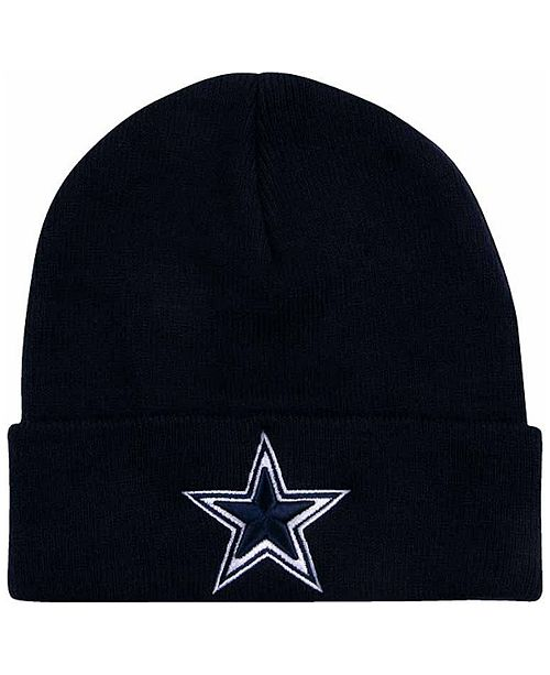 Authentic NFL Apparel Dallas Cowboys Basic Cuff Knit - Sports Fan ... 5037f897562