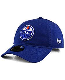 New Era Edmonton Oilers Relaxed 9TWENTY Strapback Cap