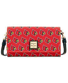 Dooney & Bourke Louisville Cardinals Daphne Crossbody Wallet