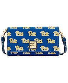 Dooney & Bourke Pittsburgh Panthers Daphne Crossbody Wallet