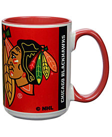 Chicago Blackhawks 15oz Super Fan Inner Color Mug