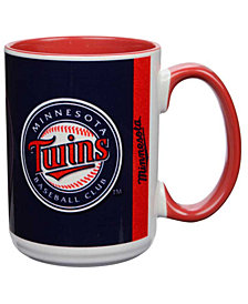 Minnesota Twins 15oz Super Fan Inner Color Mug