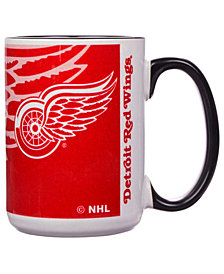 Detroit Red Wings 15oz Super Fan Inner Color Mug