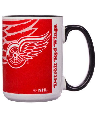 Detroit Red Wings 15oz Super Fan Inner Color Mug