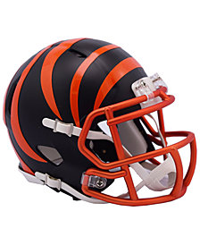 Riddell Cincinnati Bengals Speed Blaze Alternate Mini Helmet