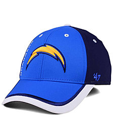 '47 Brand Los Angeles Chargers Crash Line Contender Flex Cap