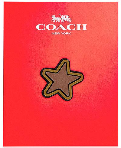 COACH Classic Star Sticker