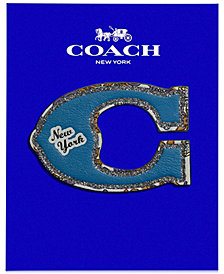 COACH Pretty Coach C Sticker