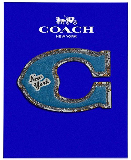 COACH Pretty Coach C Sticker