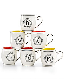 Home Essentials Katie and Mandy Initials Mugs Collection