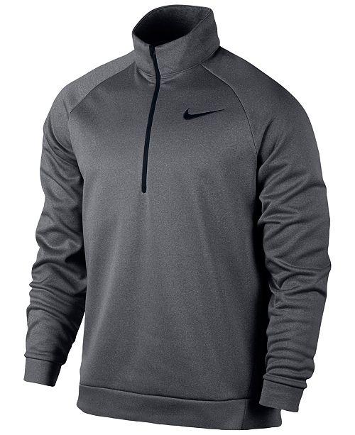 Training Quarter Nike Zip Therma Sweatshirt Hoodies Men's 1OqqPwI