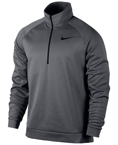 Nike Men's Therma Quarter Zip Training Sweatshirt & Reviews