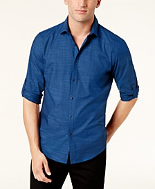 Men's Warren No Pocket Long Sleeve Shirt, Created for Macy's