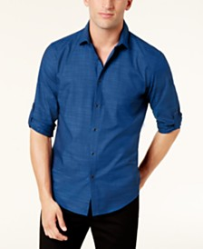 Alfani Men's Warren No Pocket Long Sleeve Shirt, Created for Macy's