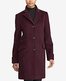 Lauren Ralph Lauren Petite Single Breasted Coat