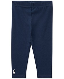 Ralph Lauren Baby Girls Stretch Leggings