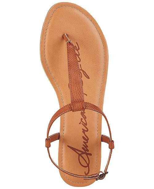 89d0f3083e30 ... American Rag Krista T-Strap Flat Sandals