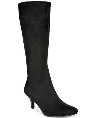 Noland Pointed Toe Boots by Impo