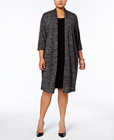 Plus Size Layered-Look Dress