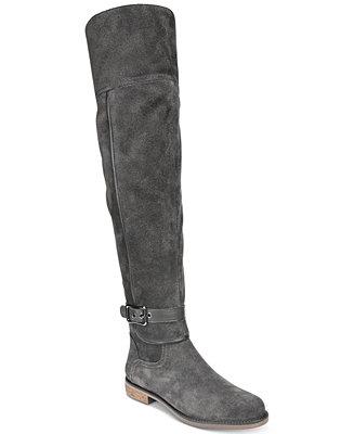 fb63bdcc2757 Franco Sarto Crimson Wide-Calf Over-The-Knee Boots   Reviews - Boots -  Shoes - Macy s