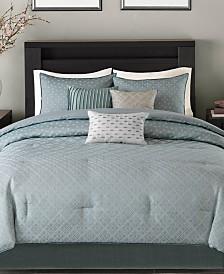 Madison Park Biloxi 7-Pc. Geometric Jacquard Comforter Set Collection