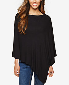 Motherhood Maternity Pullover Poncho