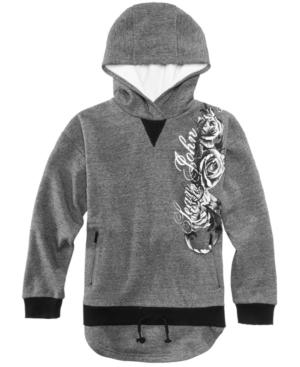 Sean John Golden Age Hooded Sweatshirt Big Boys (820)