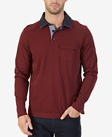 Nautica Men's Big & Tall Shipman Pocket Polo