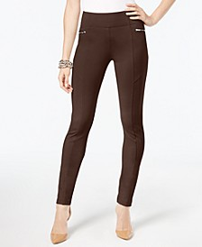 INC Skinny Moto Pants, Created for Macy's