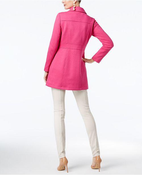 aa8d4cb82453 INC International Concepts I.N.C. Button-Trim Coat