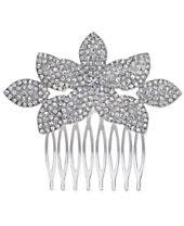 I.N.C. Silver-Tone Pavé Hair Comb, Created for Macy's