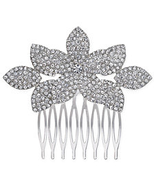 I.N.C. Silver-Tone Pavé Hair Comb, Created for Macy's