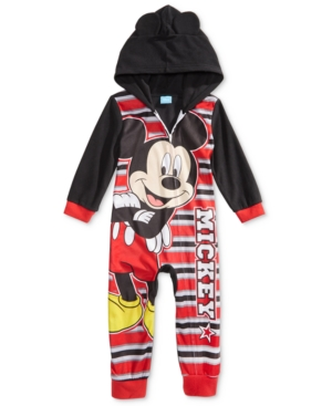 Mickey Mouse Hooded Pajamas Toddler Boys (2T5T)