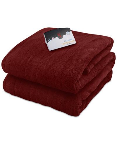 Biddeford Microplush Heated King Blanket