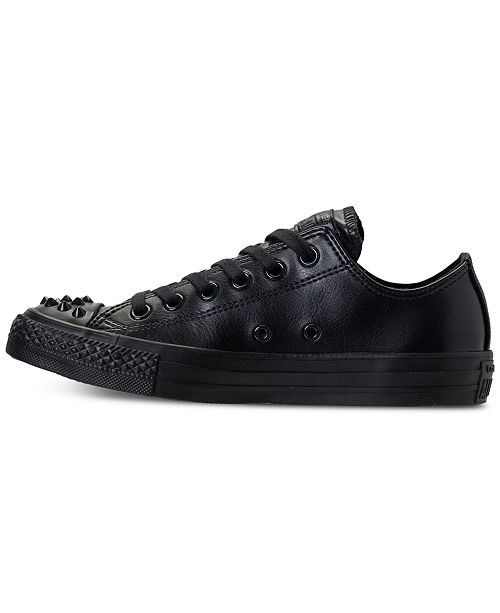 3f94781eb69d ... Converse Women s Chuck Taylor Ox Stud Casual Sneakers from Finish ...