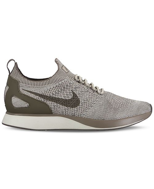 Nike Men's Air Zoom Mariah Flyknit Racer Running Sneakers from Finish Line cg3ZmHB