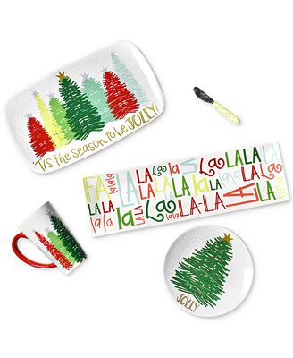 Coton Colors Holiday Dinnerware Collection