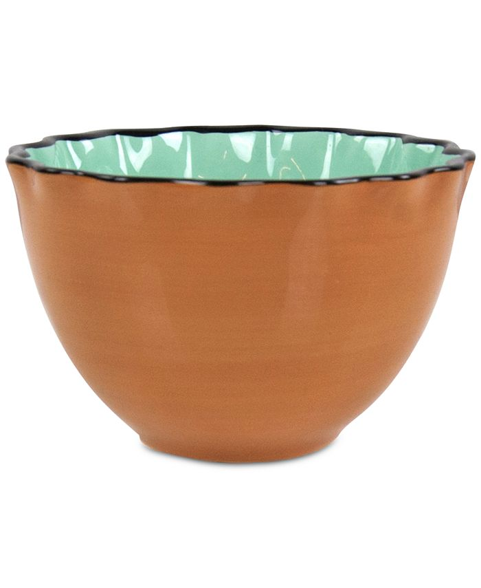 Coton Colors - Camel Midcentury Mix Ruffle Small Bowl