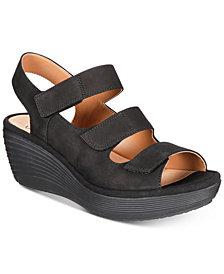 Clarks Women's Reedly Juno Wedge Sandals