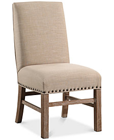 CLOSEOUT! Gabriella Nailhead Trim Dining Chair, Quick Ship