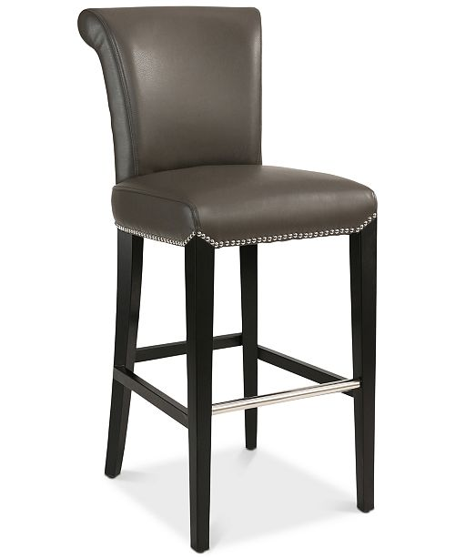 Abbyson Living Gavin Bar Stool, Quick Ship
