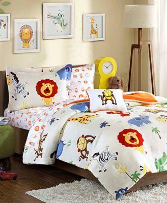 Safari Sam 8-Pc. Reversible Full Comforter Set